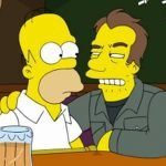 "Homer and ""guest star"" Tom Waits."