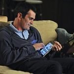 Modern Family's Phil (Ty Burrell) with his new love