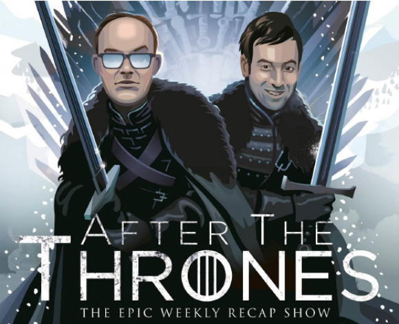 "Providing legions of Game of Thrones fans a chance to dive deeper into the events and implications of each and every episode, this new HBO companion series takes a fun and sophisticated look the who, what, when, where and ""WTF"" of Game of Thrones. Hosted by fellow journalists and Thrones devotees Andy Greenwald and Chris Ryan (former hosts of the popular Watch the Thrones podcast), each edition of After the Thrones dissects the events that took place in the latest GoT episode, while exploring the complicated politics and history of George R.R. Martin's epic story of duplicity and treachery, nobility and honor, conquest and triumph. Combining clips from recent shows with insights, opinions and some absurd and not-so-absurd prognostications, After the Thrones"